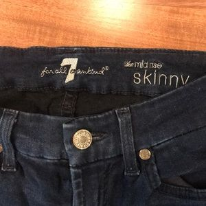 7 For All Mankind Jeans - 7for all mankind denim skinny jeans